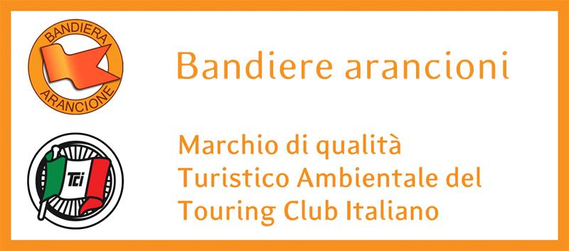 bandiera arancione touring