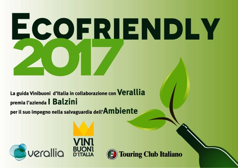I Balzini ecofriendly2017