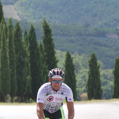 ciclista solo Albola