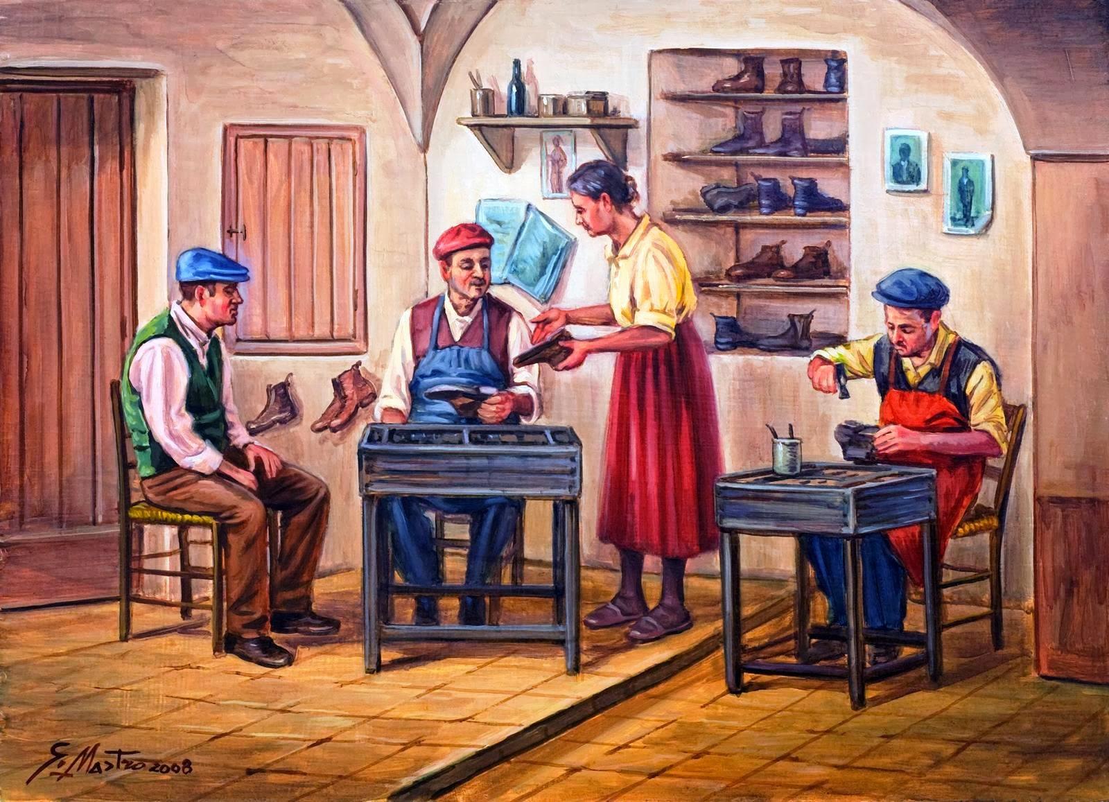 Quando le scarpe ce le costruivano sul piede la storia for Foto di case di artigiani